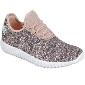 Shoes - Glitter Sneakers
